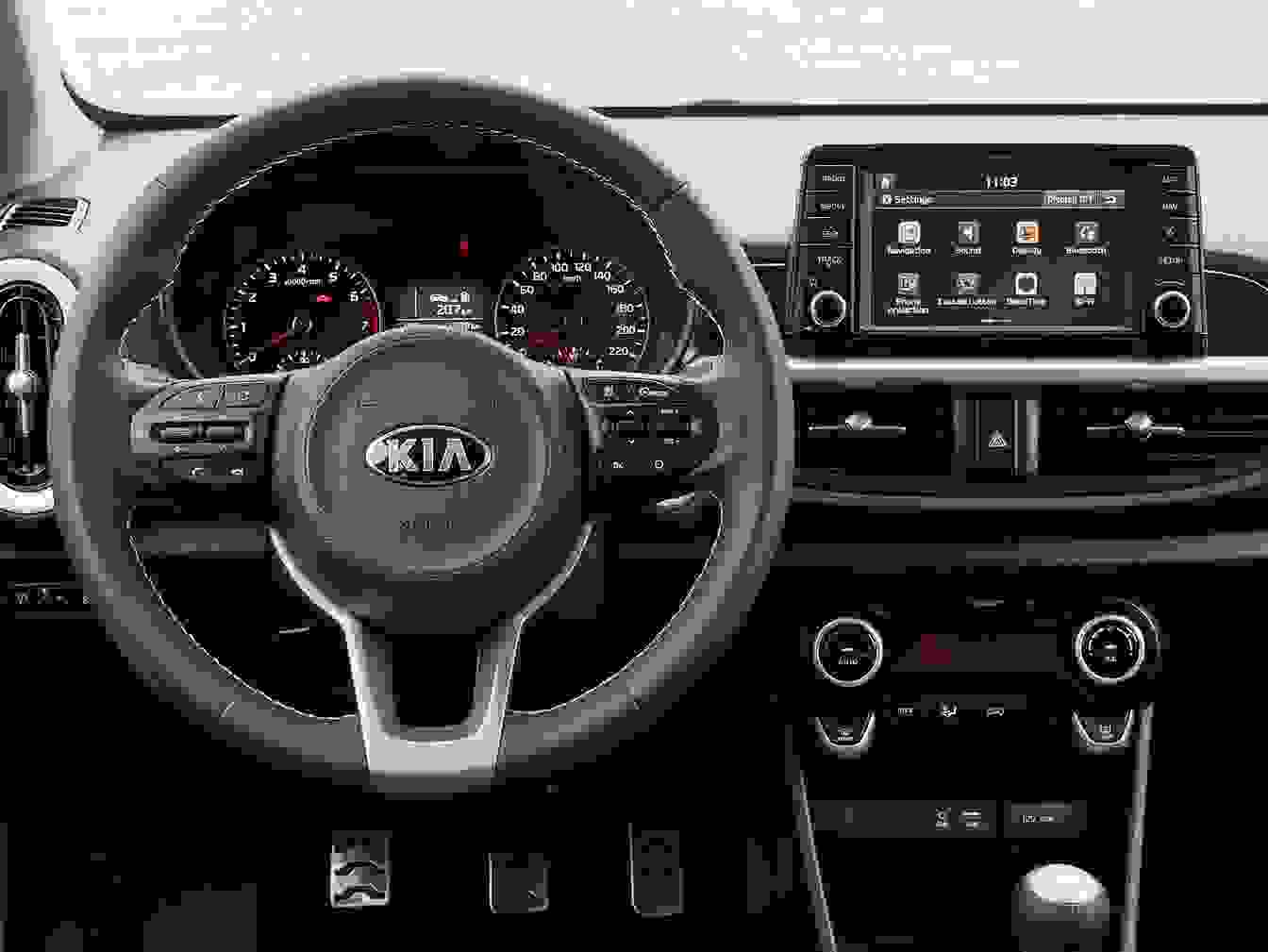 Kia Picanto 2018 Interior Foererplads Ac Anlaeg Tft Skaerm Rat