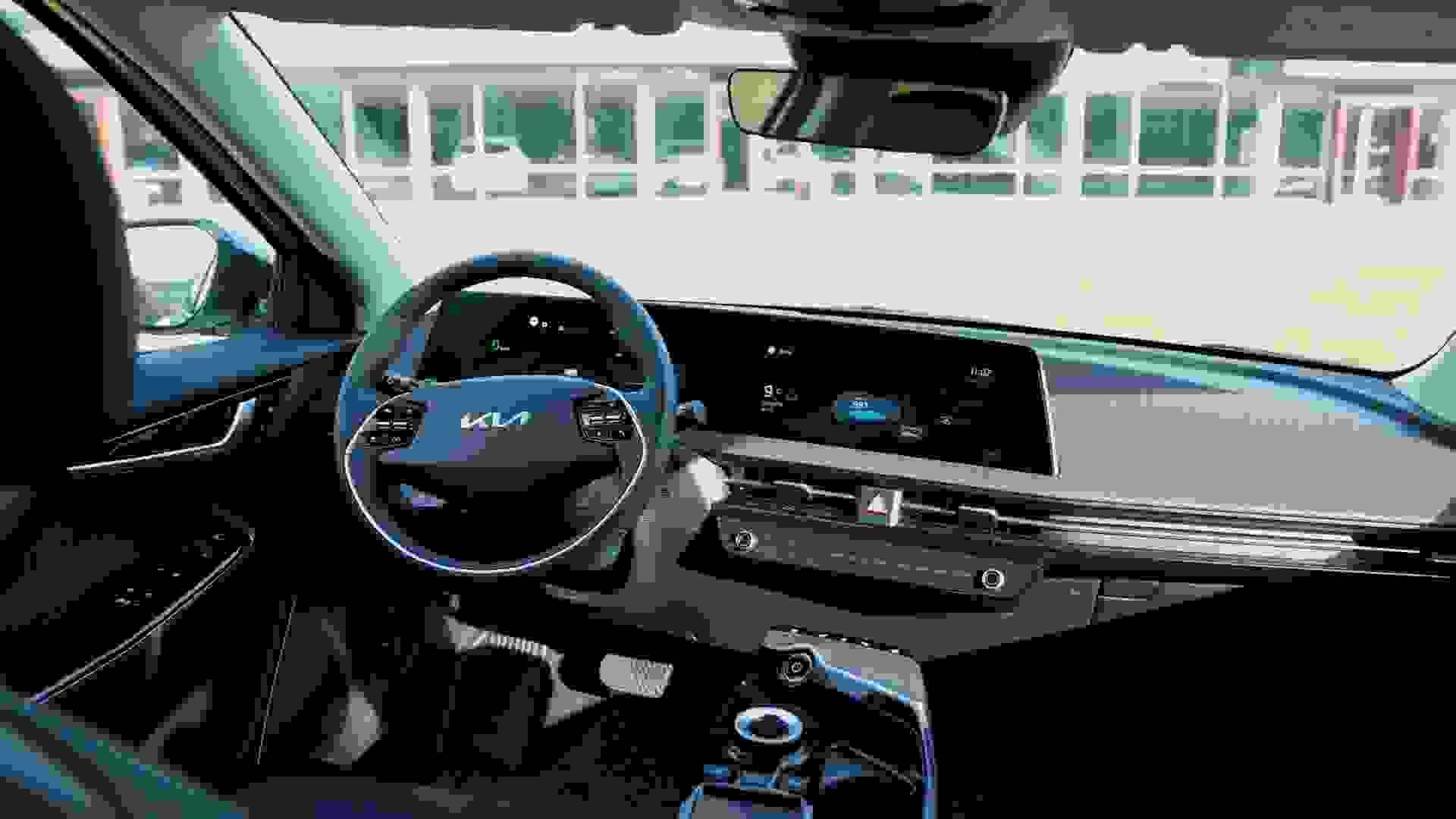 Bilguiden EV6 Interior